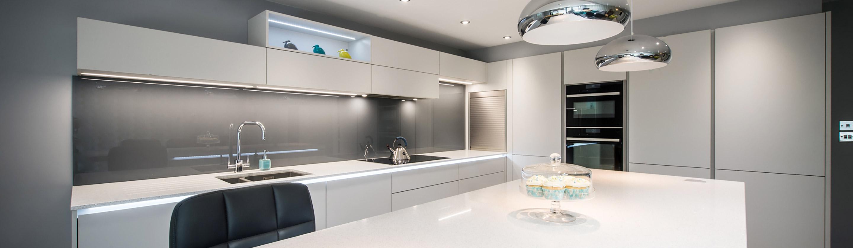 Ipswich Kitchen Handless Matt Grey Kitchen Kitchenology