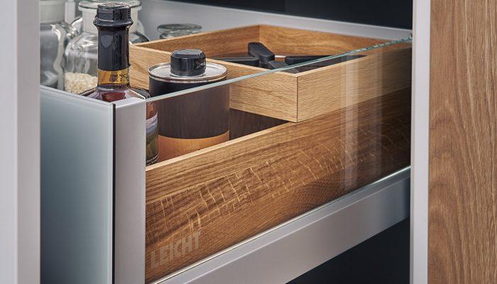 Leicht storage drawer