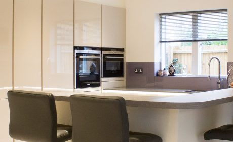 Open plan lifestyle kitchen for a new build home – Fordham