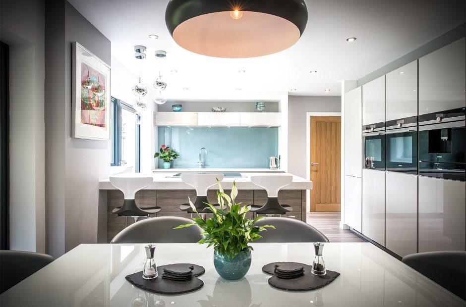 Cambridge Kitchen Pearl Grey Gloss Kitchen Kitchenology