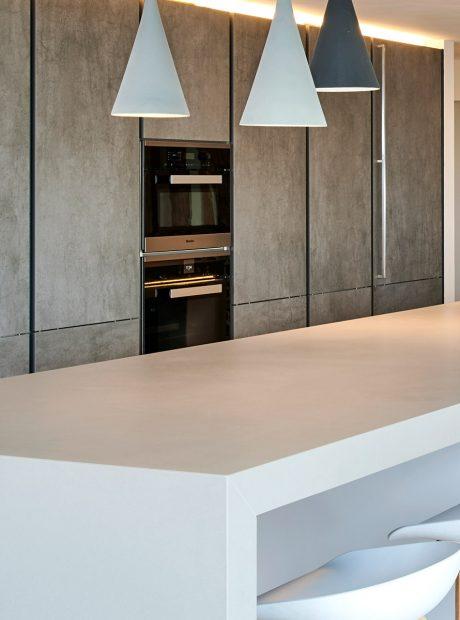 Grey Ceramic Handleless Kitchen Ware